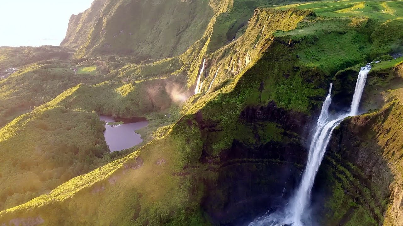 Images never before seen of Flores Island, considered the most beautiful island of the Azores