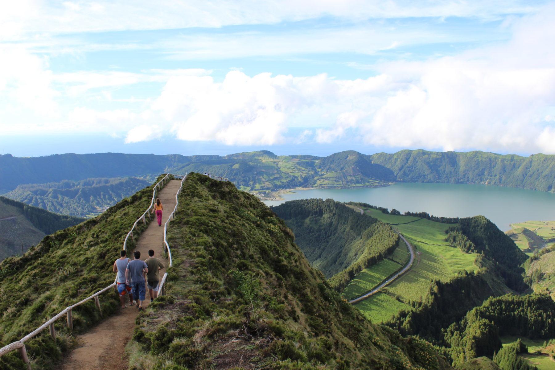 Miradouro da Boca do Inferno - Lagoa do Canário - São Miguel, Açores