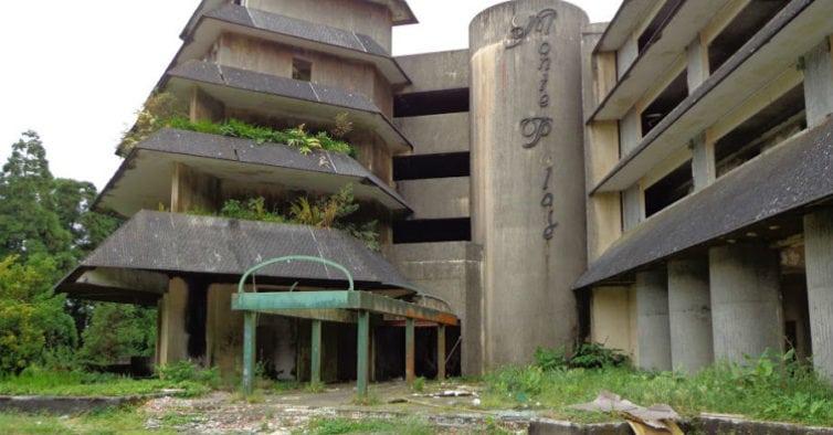 Hotel Monte Palace atualmente