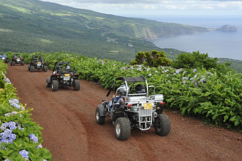 Passeio de KartKross - Ilha do Faial - Açores