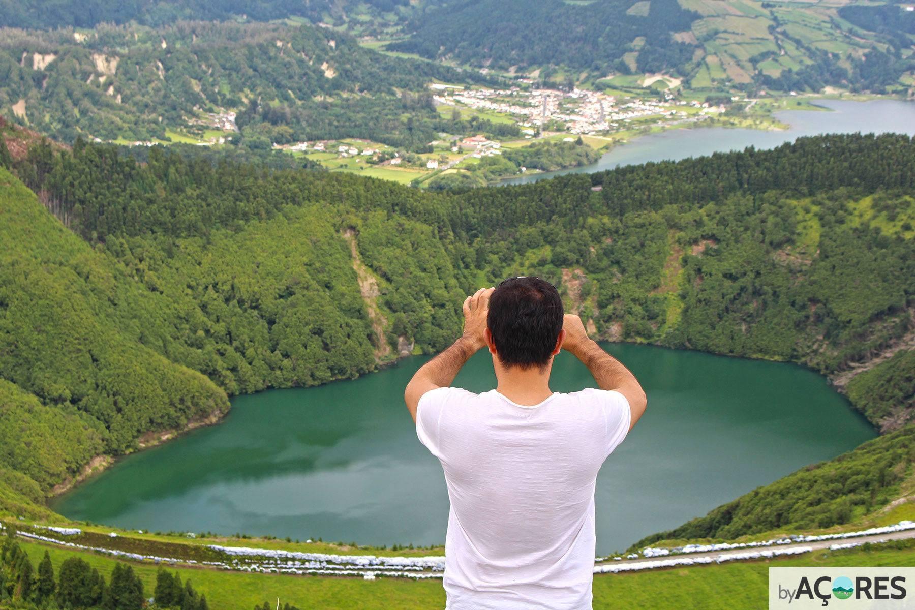Turismo - Miradouro da Grota do Inferno - São Miguel, Açores