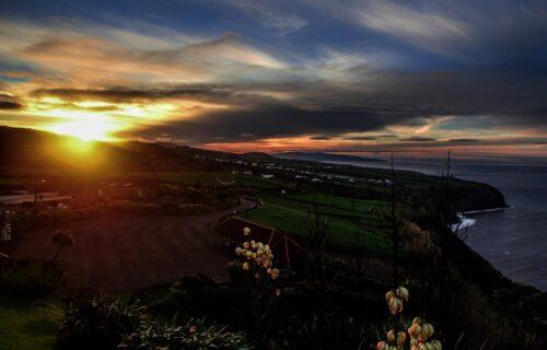 Miradouro da Vigia das Baleias – Pôr do Sol (Algarvia – Nordeste)