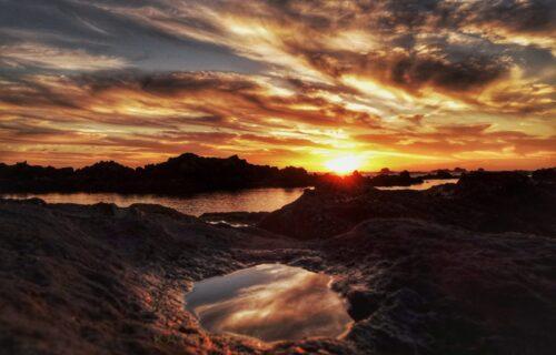 Pôr do sol – Corvo
