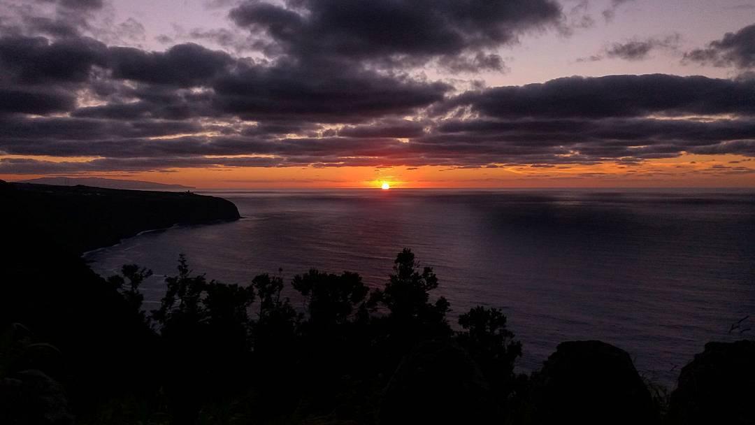 Pôr-do-sol – Borda da Ladeira
