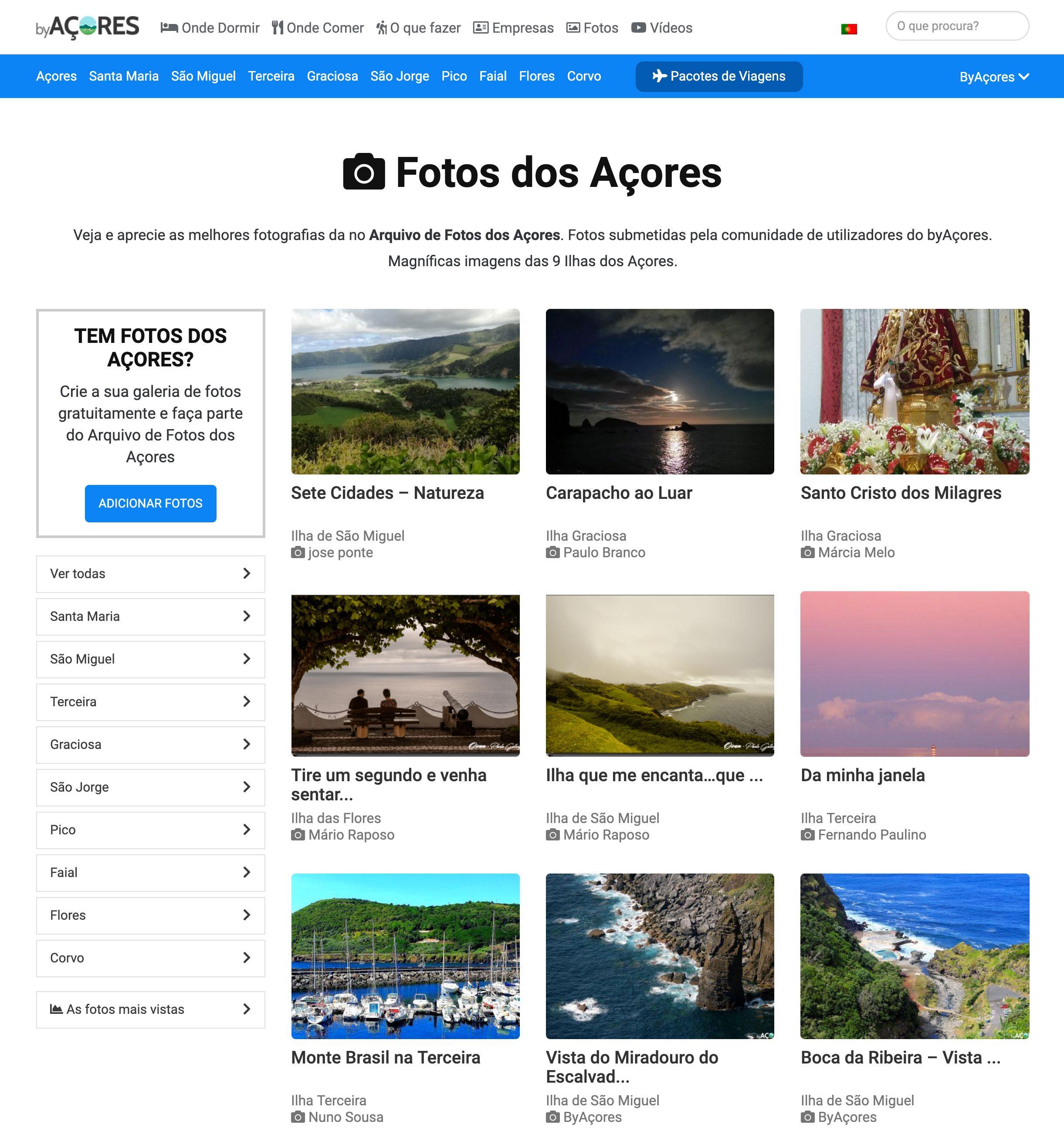 Arquivo de Fotos dos Açores
