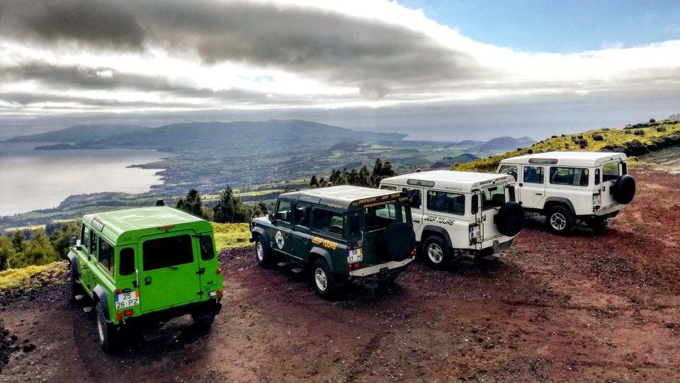 Passeio de Jipe - Açores