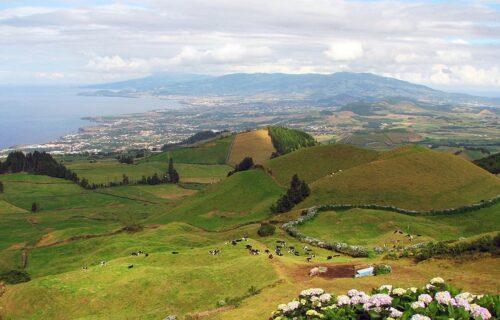 Vista panorâmica Ilha de São Miguel