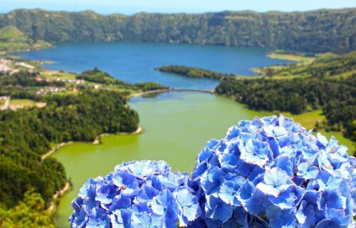 Lagoa das Sete Cidades (Azul e Verde)