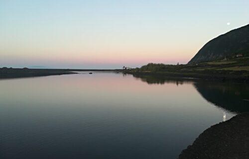 Lagoa, Fajã da caldeira de Santo Cristo