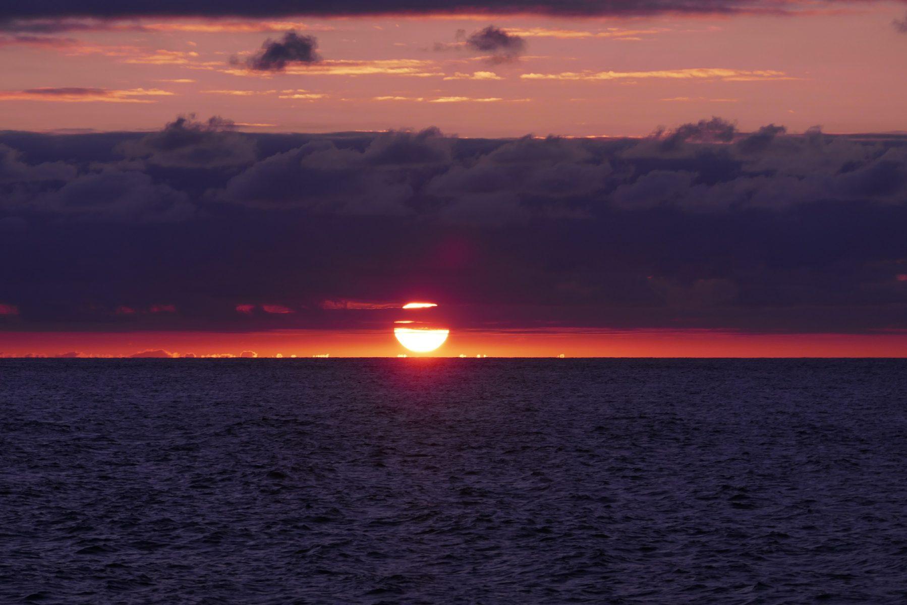 Pôr do sol em Anjos