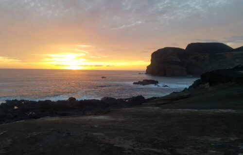 Sunset at faial