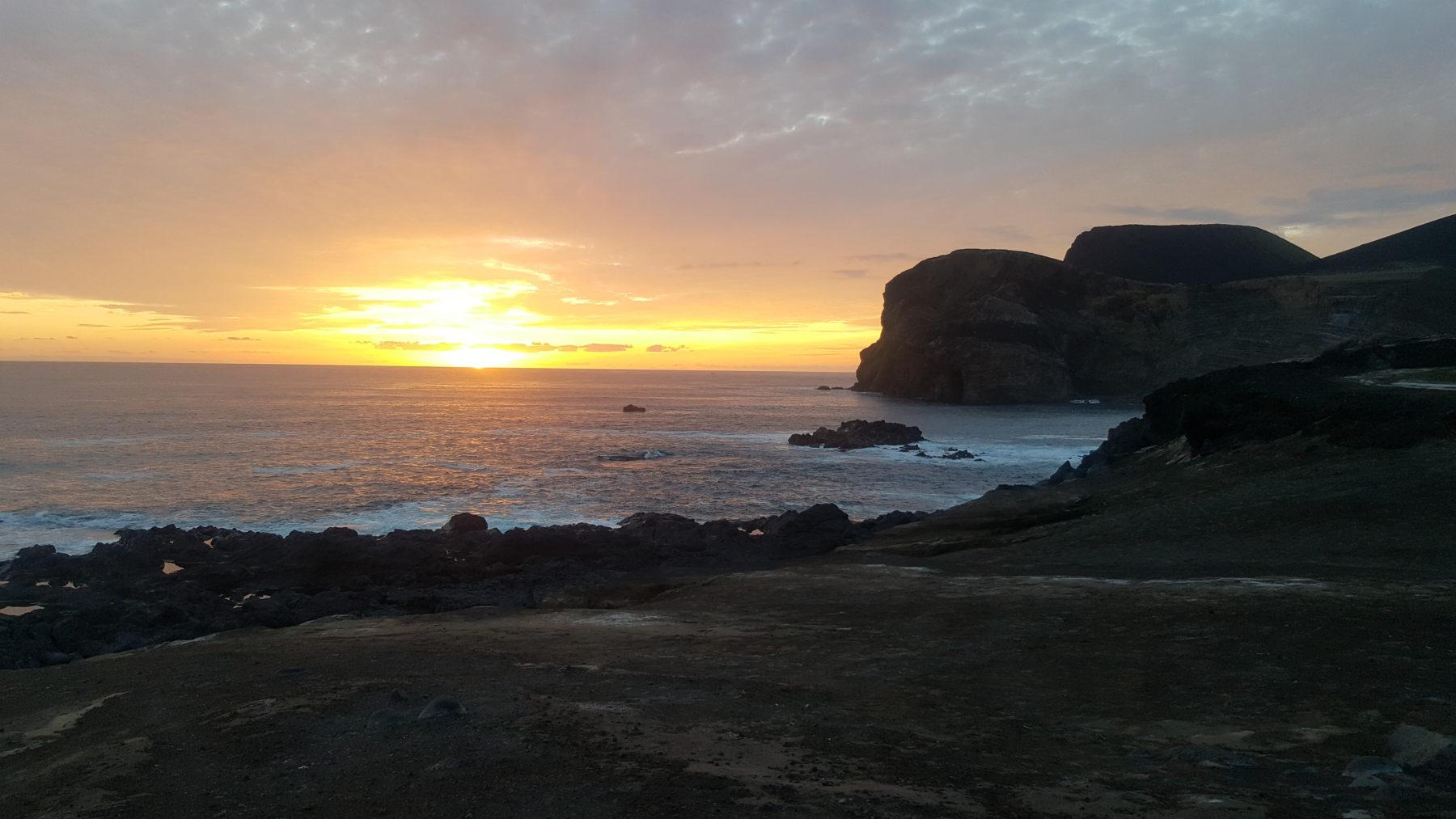 Sunset at faial