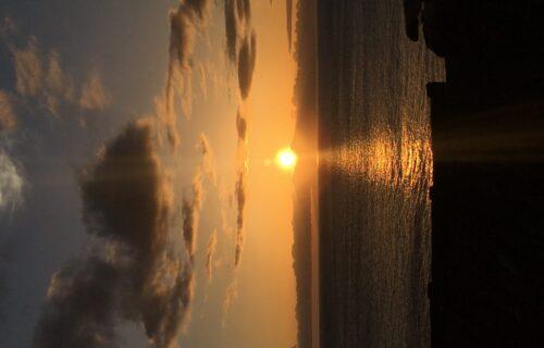 Pôr do Sol, Fajã das Pontas, São Jorge