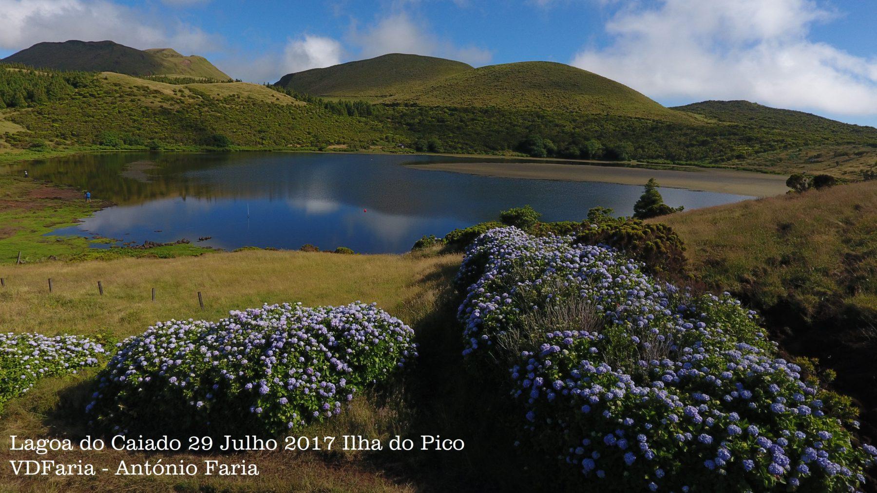 Lagoa do Caiado, Ilha do Pico