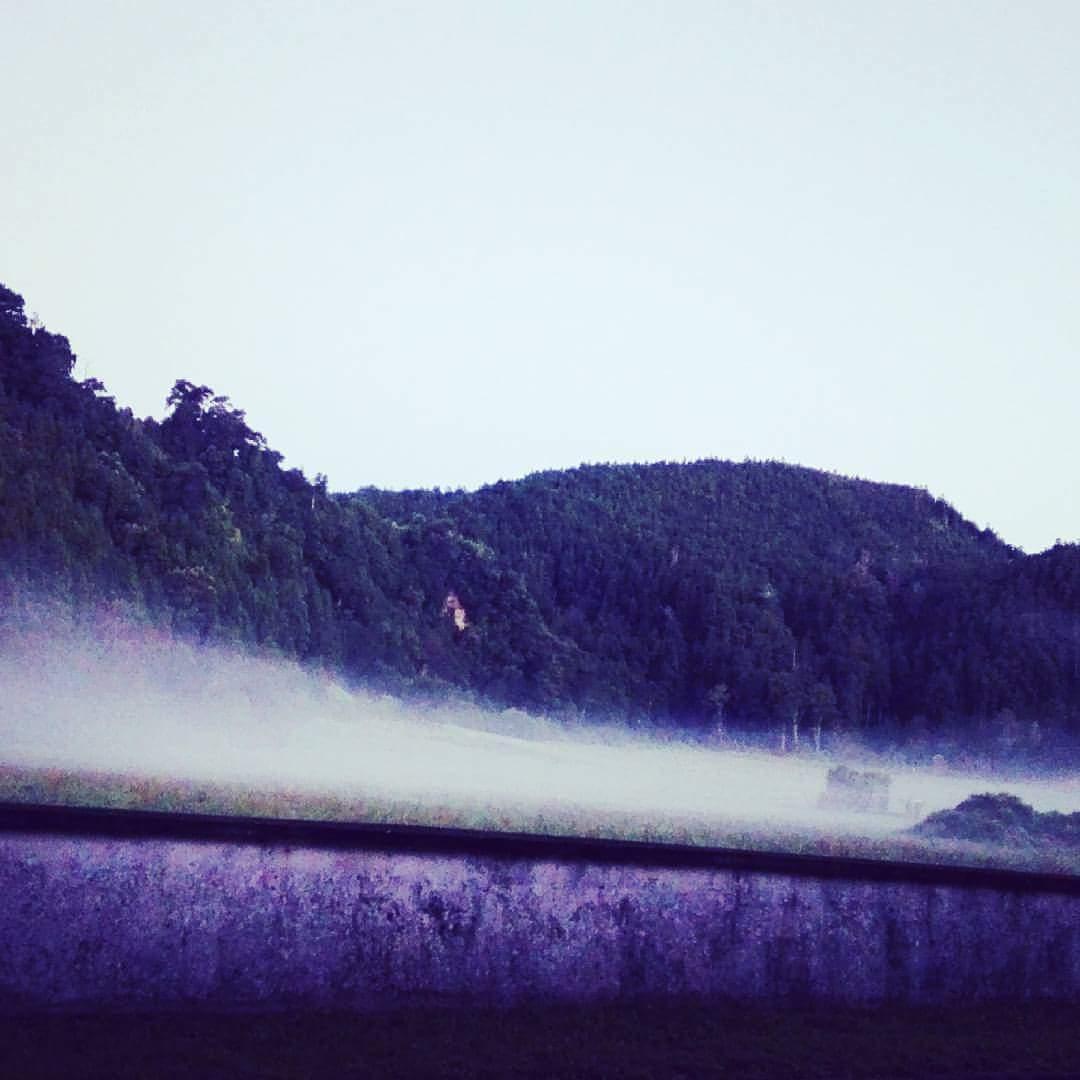 Lagoa das Furnas sob as brumas