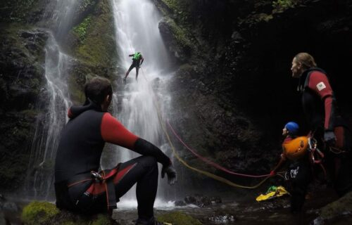 Canyoning nas Flores