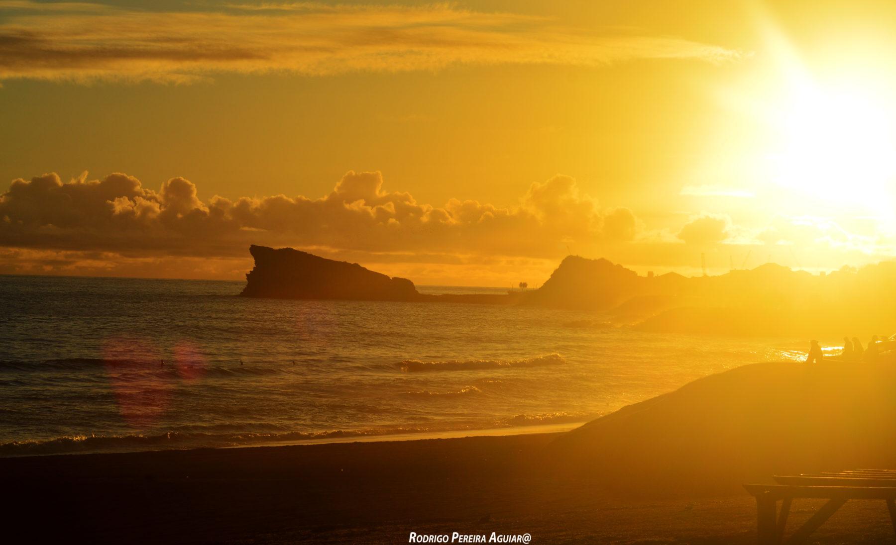 Pôr do Sol em Praia das Milícias