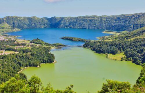 Lagoa das Sete Cidades (Lagoa Azul e Verde)