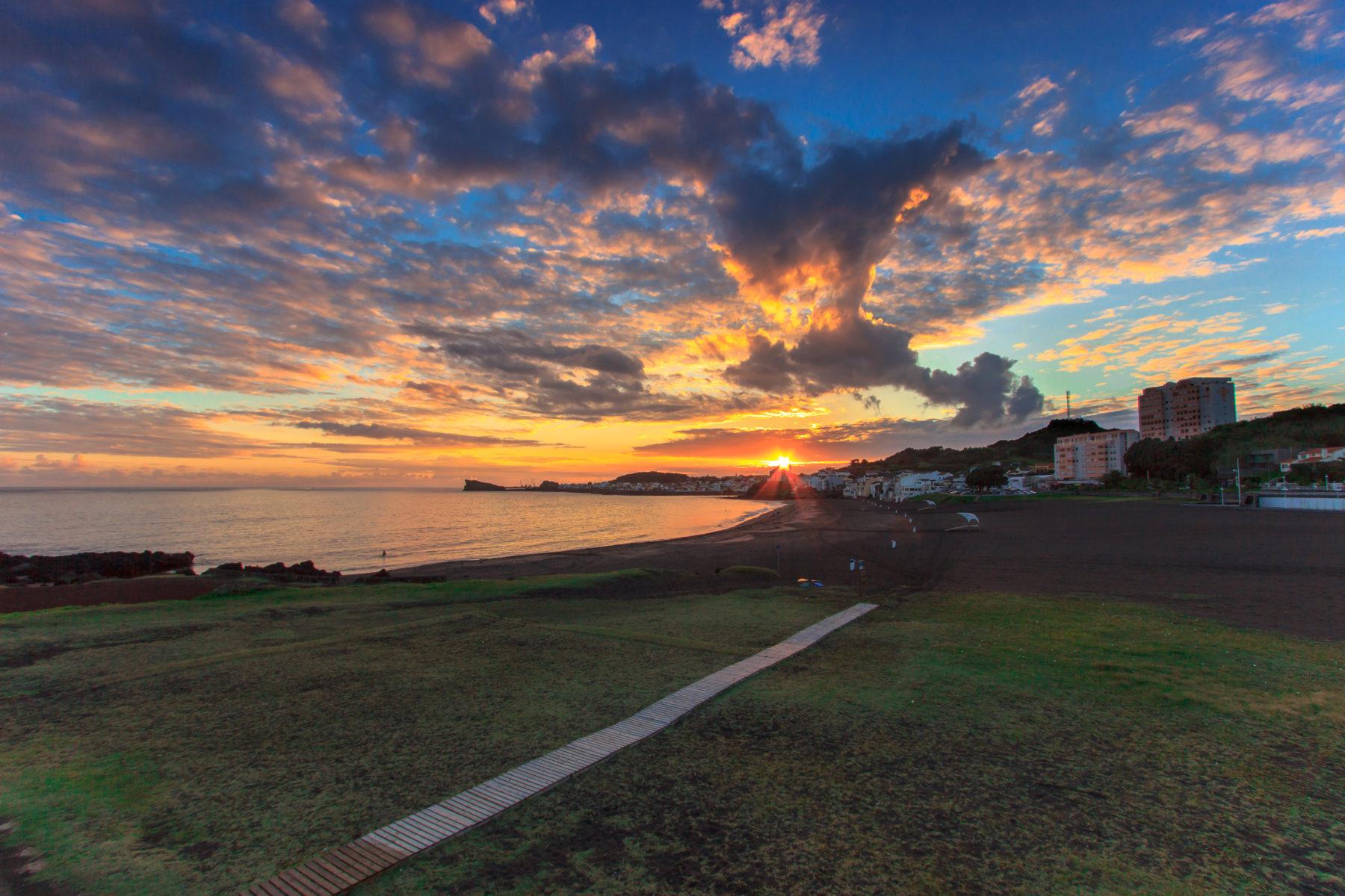Sunset Praia das Milicias, Ponta Delgada
