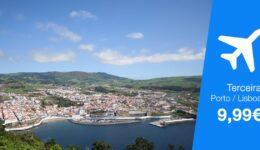 Viagens baratas Terceira, Açores