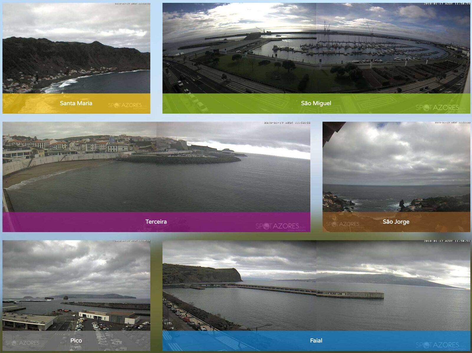 SpotAzores - Câmaras Web - Azores