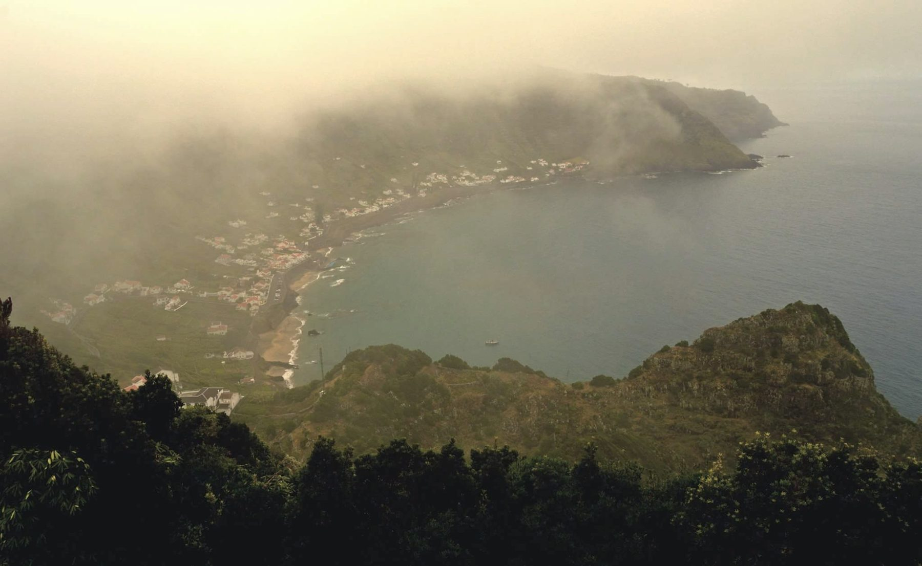 Vista Praia Formosa do Miradouro