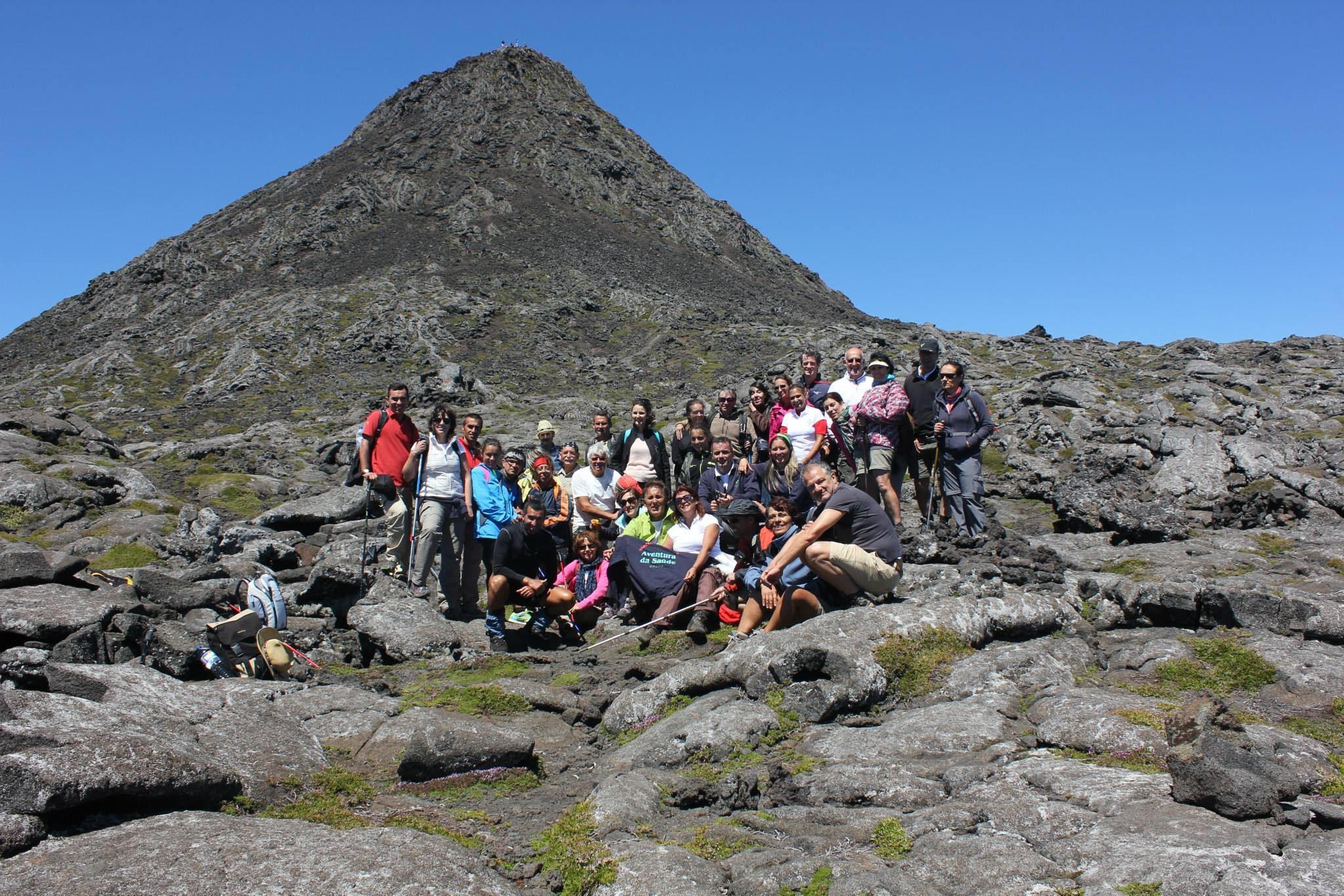 Subir Montanha do Pico - Ilha do Pico, Açores