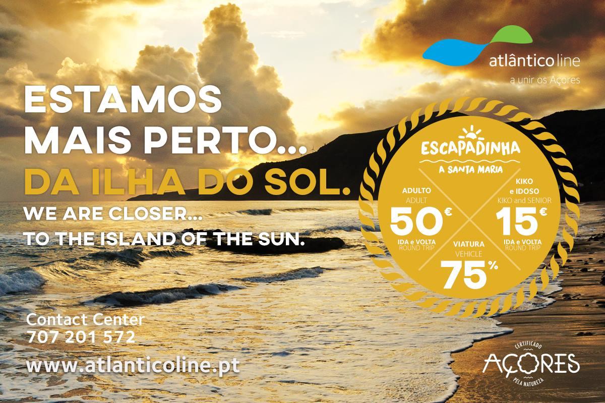 Escapadinha Santa Maria - Atlanticoline - Açores