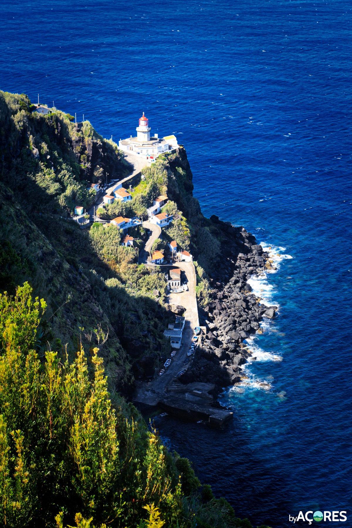 Farol da Ponta do Arnel - São Miguel, Açores