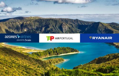 Destino Açores: que companhia aérea escolher? (Azores Airlines vs TAP vs Ryanair)