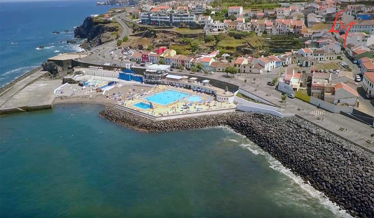 Imagens aéreas da Ribeira Grande, na Ilha de São Miguel