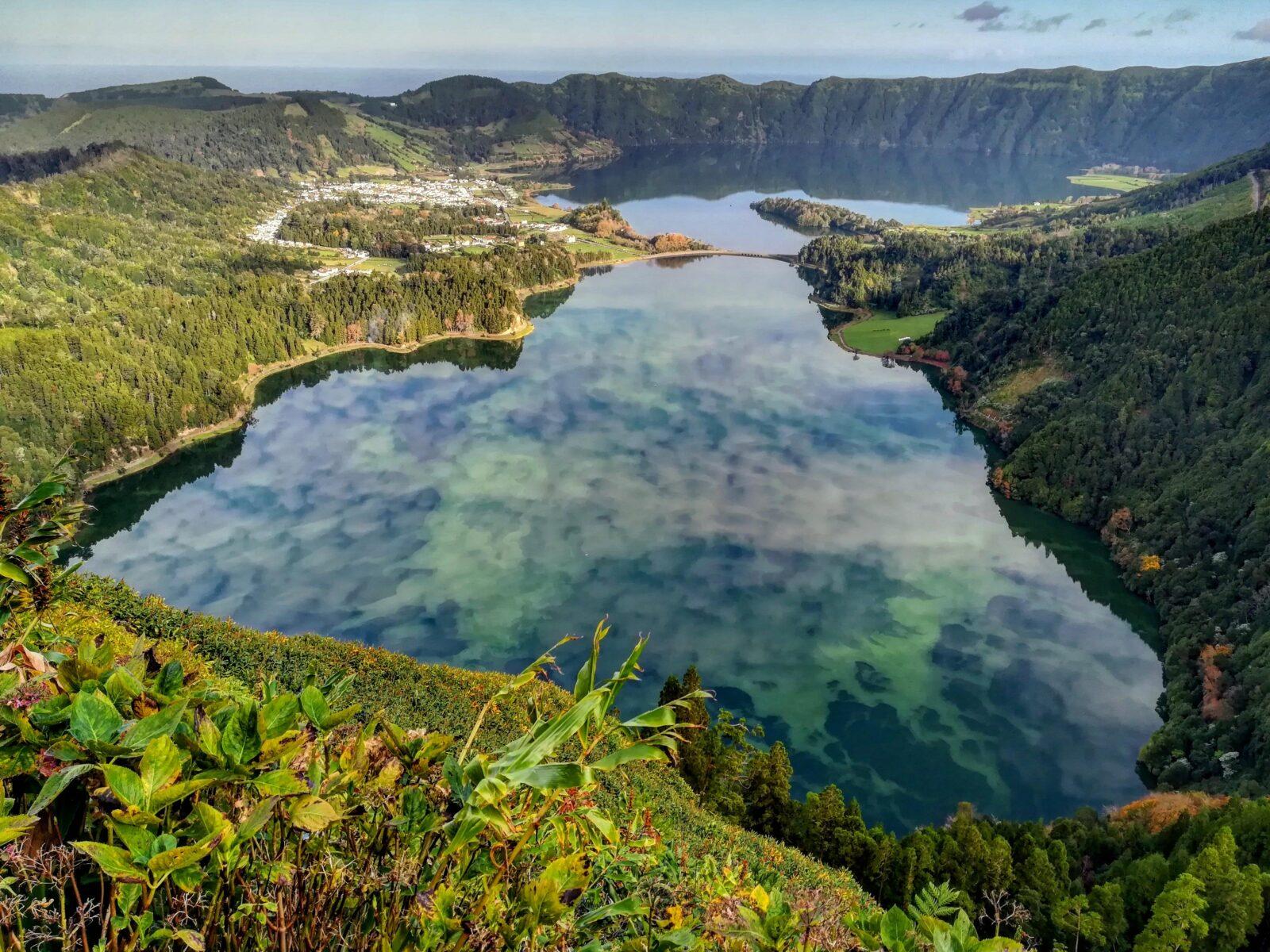 Lagoa Verde e Azul, Sete Cidades