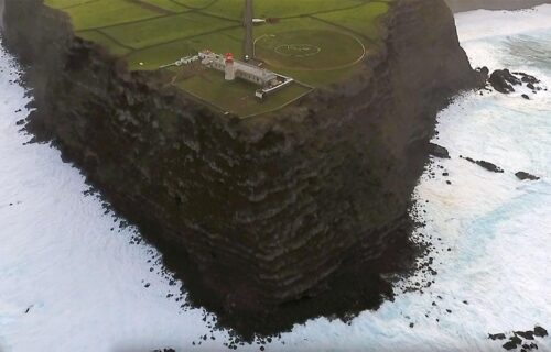 Farol de Albarnaz, Ponta Delgada Ilha das Flores 2019 Açores