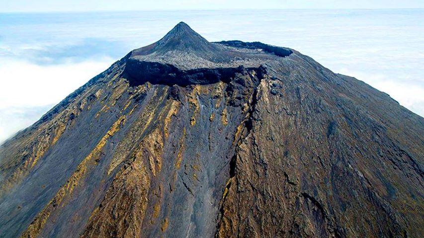 Montanha do Pico vista do céu – Imagens simplesmente magníficas