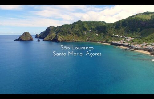 Baia de São Lourenço, Santa Maria, Açores. Portugal