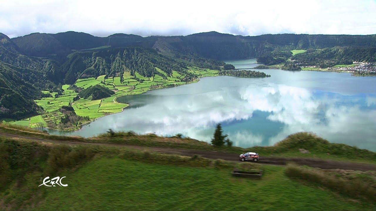 "Imagens arrepiantes da ""Volcano Stage"" com Lukyanuk | Azores Rallye 2019"