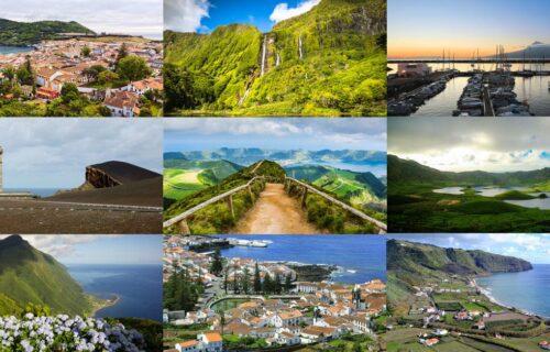 9 Ilhas dos Açores | Voos + Alojamentos + Ligações entre ilhas