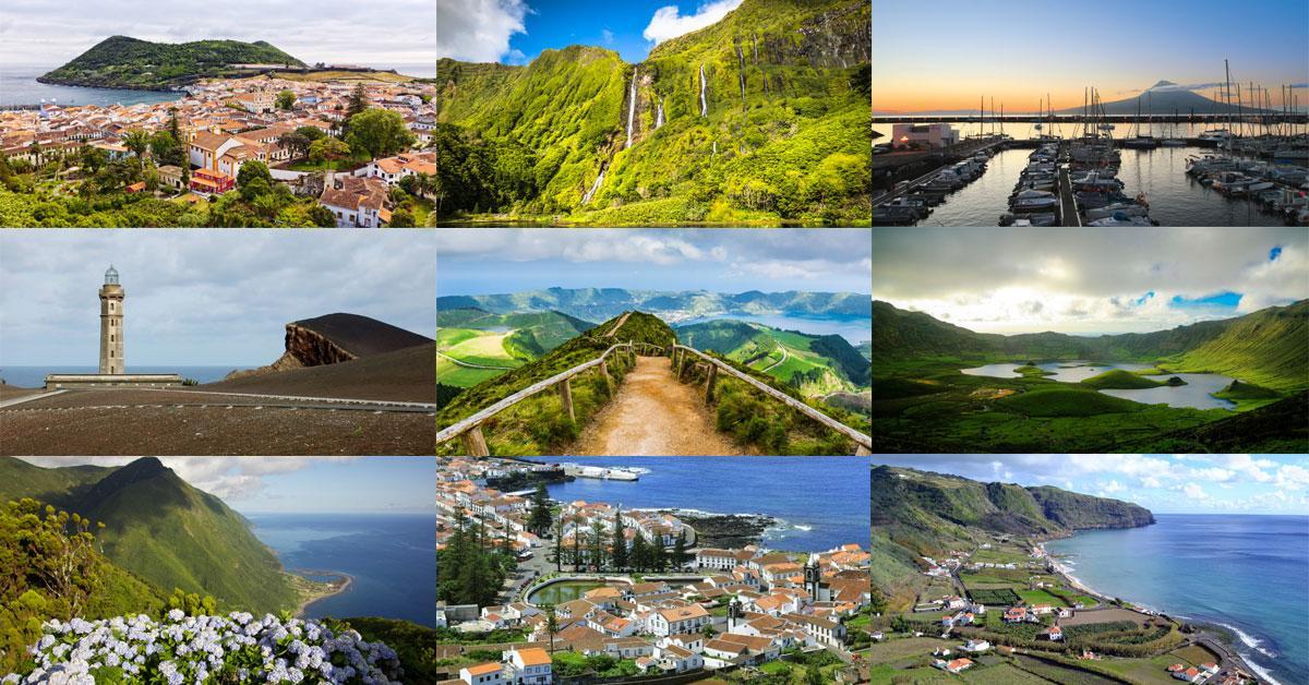 9 Ilhas dos Açores - Pacote de Viagem completo