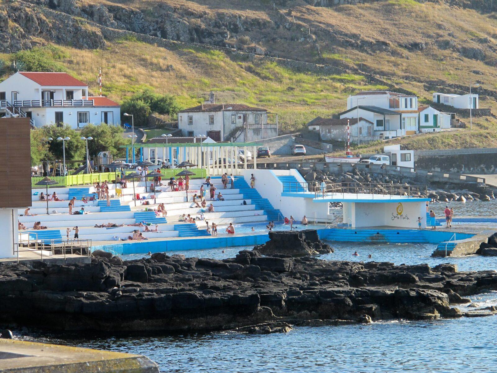 Baía dos Anjos, Ilha de Santa Maria, Açores