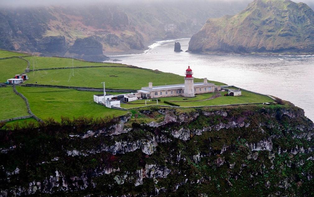 Farol da Ponta do Albarnaz, Ilha das Flores, Açores
