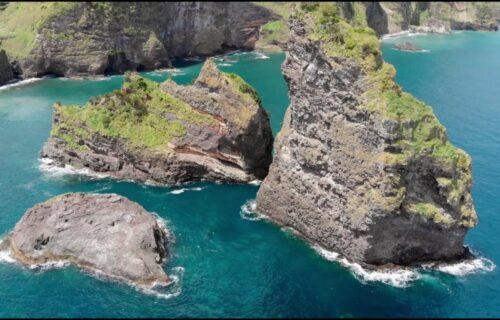 Magníficas imagens ao largo da Ilha das Flores