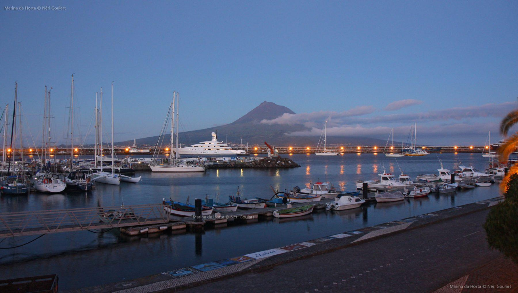 Marina da Horta, Ilha do Faial, Açores