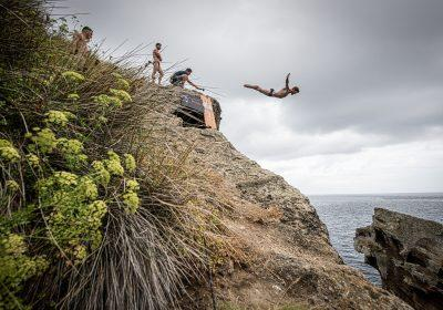 Red Bull Cliff Diving World Series in Sao Miguel, Azores