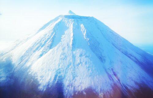 Montanha da ilha do Pico