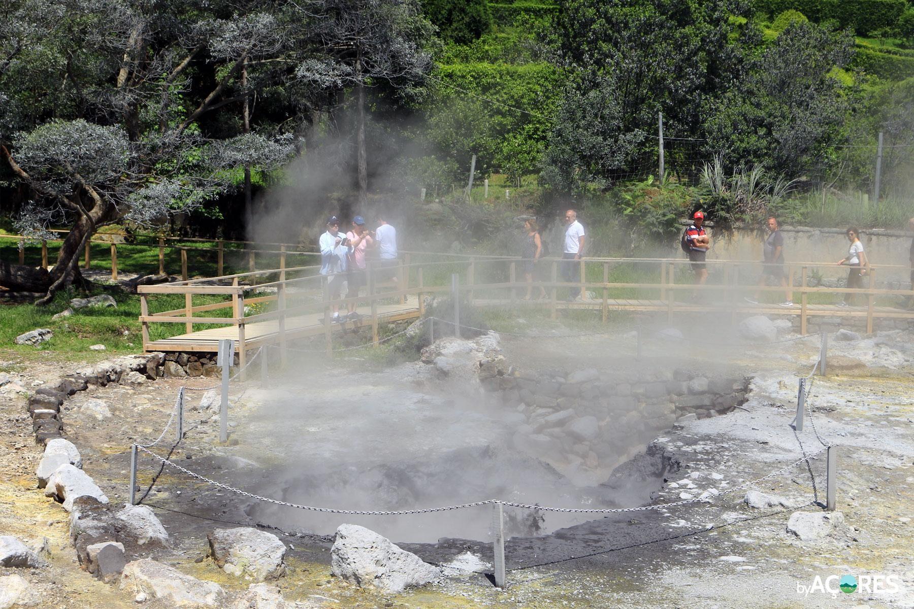 Fumarolas, Lagoa das Furnas