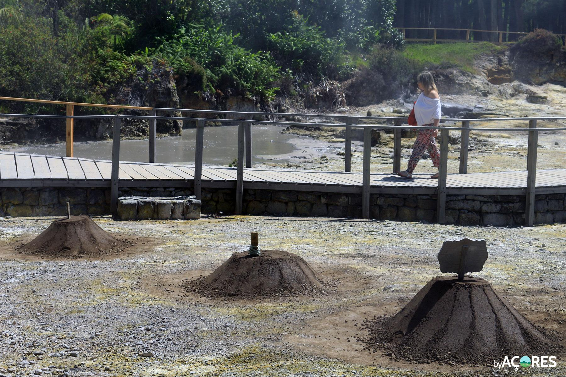 Fumarolas, Lagoa das Furnas IX