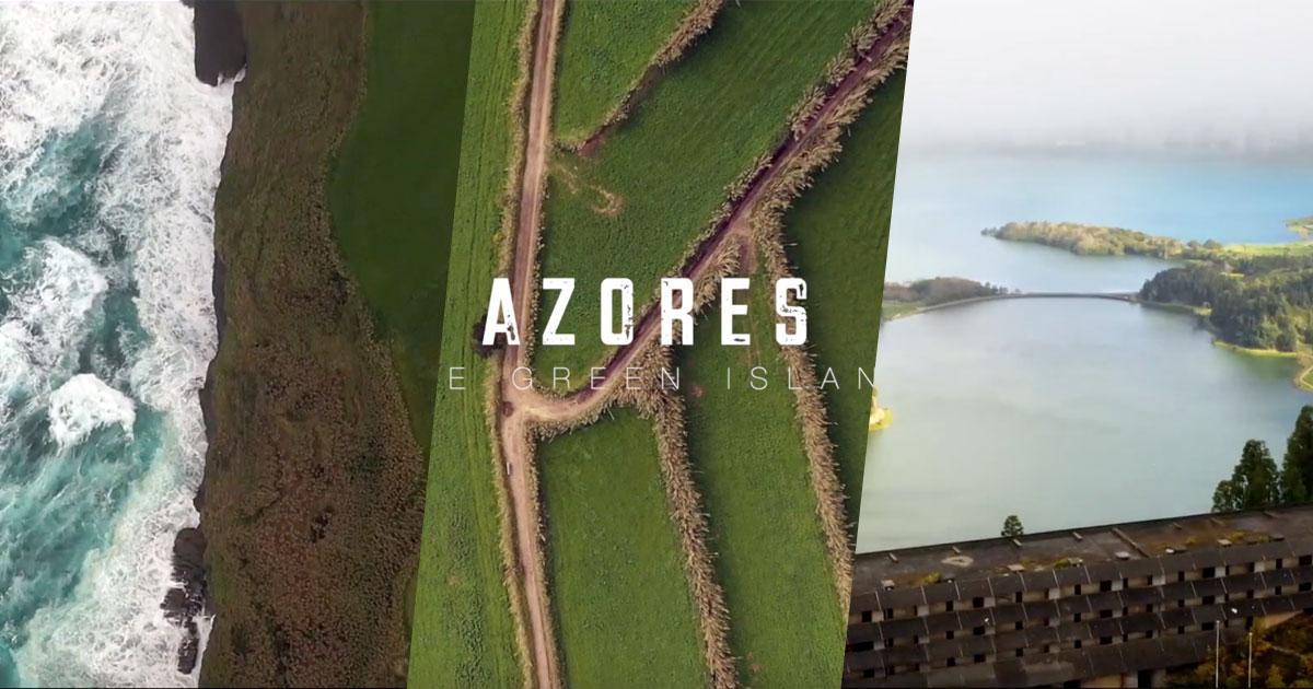 """""""The Green Island"""", imagens incríveis e arrepiantes da Ilha de São Miguel"""