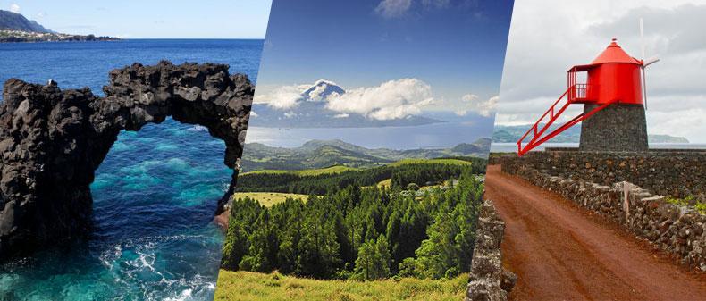 Ilhas do Triângulo, Pacote de Viagem com tudo incluído - Açores