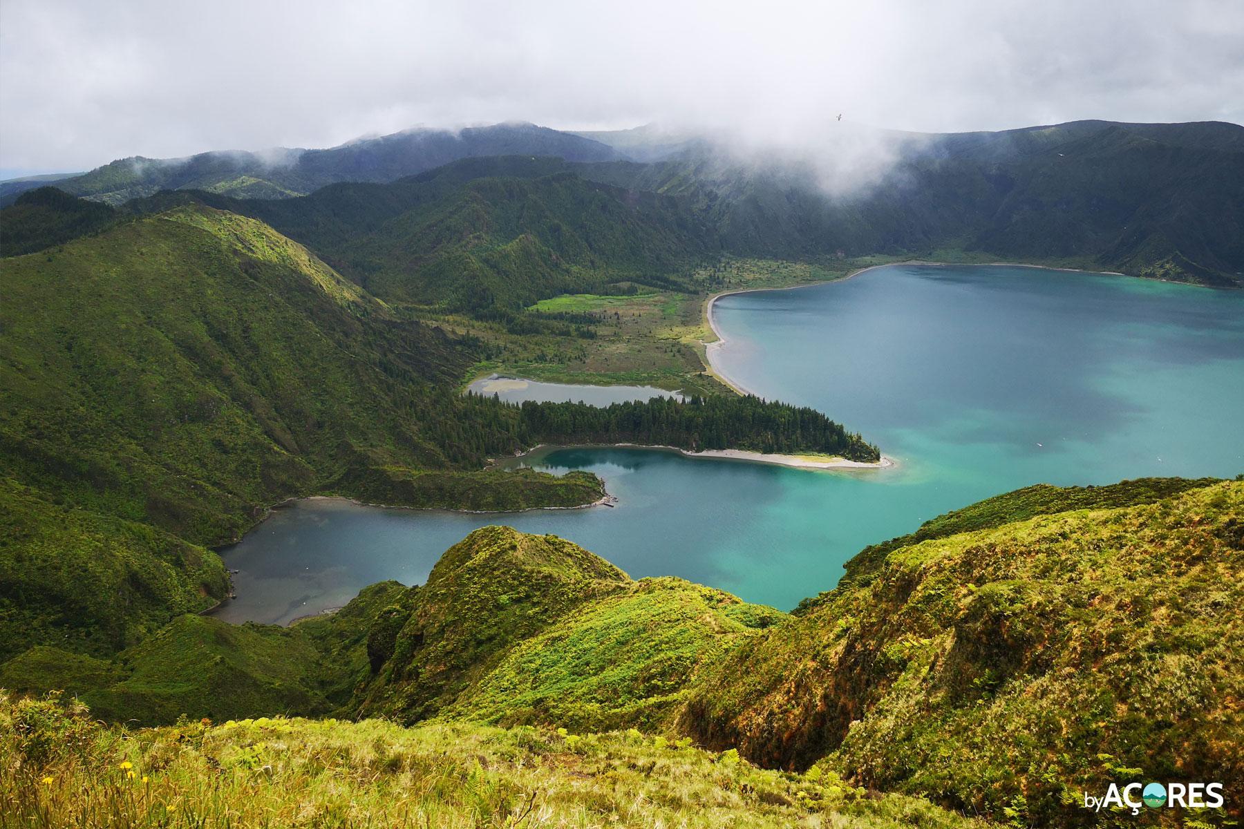 Lagoa do Fogo – Vista Miradouro