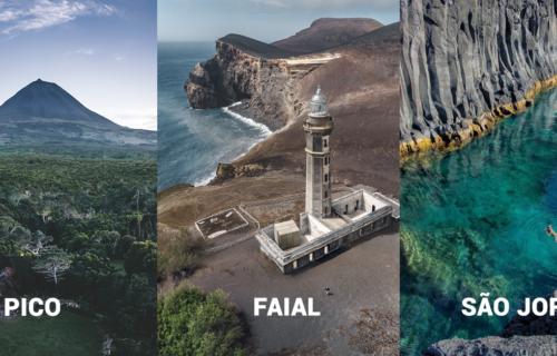 Super Flexível | Ilhas do Triângulo | Pico, Faial e São Jorge | Voos + Alojamentos